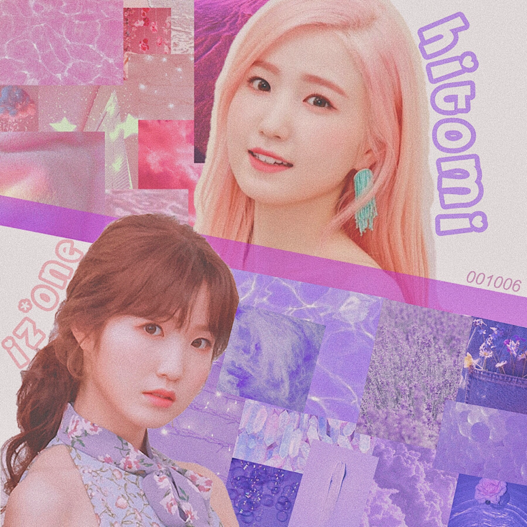 🪁 • hitomi // iz*one • > edit request for @interludewings < ahh i hope you like, sorry for going overboard on the pictures 😭😭  but serious question: what color do you think math is?🤔😂