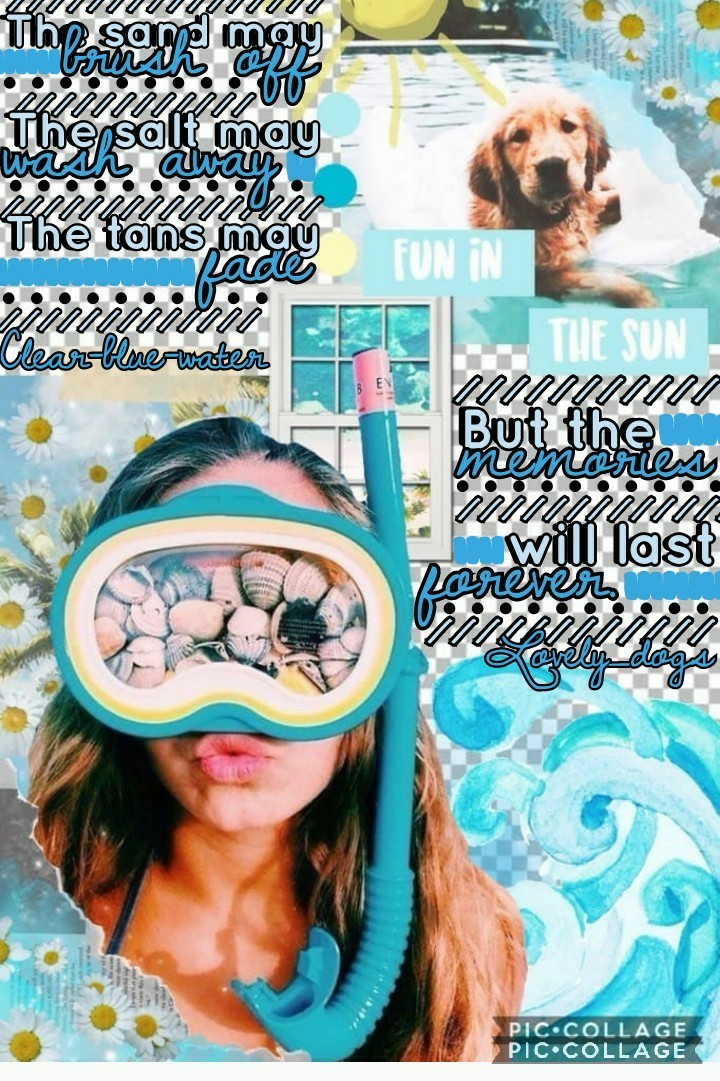 this is a collab with the AMAZING...(tap) 🌊clear-blue-water!🌊❤ Seriously her collages are beautiful! Go follow her rn!❤I am SO sorry for not posting in forever! I seriously have no excuses! I'll try to post more often!