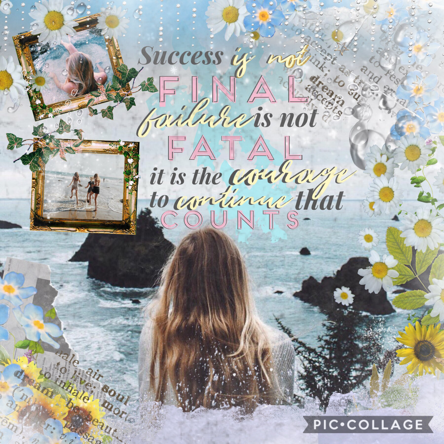 I'm back 😂🌊💗 Sorry for all the inactivity, school has been so stressful😖so much revision to do and no time 🙈😖📚comment below any tips for dealing with stress💓entry to blossomedsoul's 1K contest! Go enter! Inspired by the amazing triplet-klf 🎉💘
