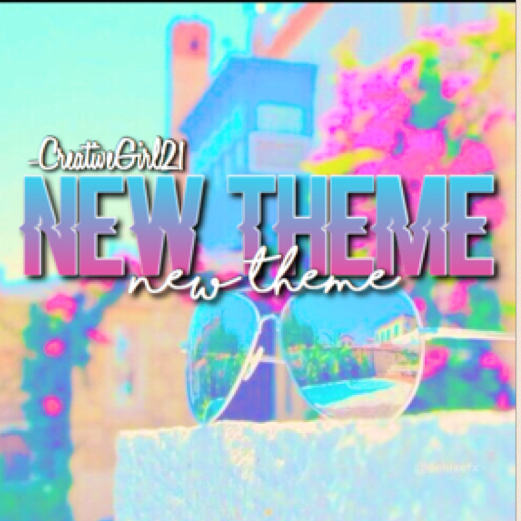 TAP FOR NEW THEME 💕my new theme is vibrant tumblr edits with text from Phonto.😊🎊Hope you enjoy and please carry on giving me likes.🙏can this get to 30 likes?