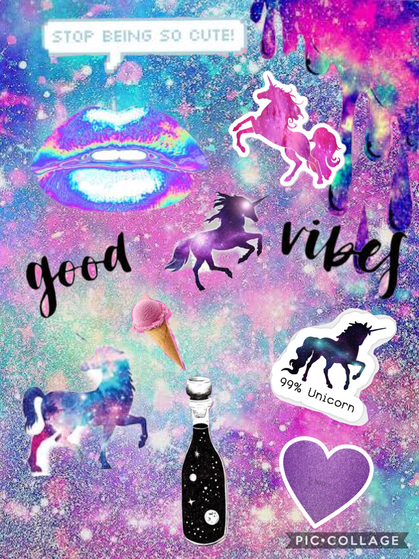 So I love unicorn who ever comments down below they love unicorns they get a shoutout 💜💜