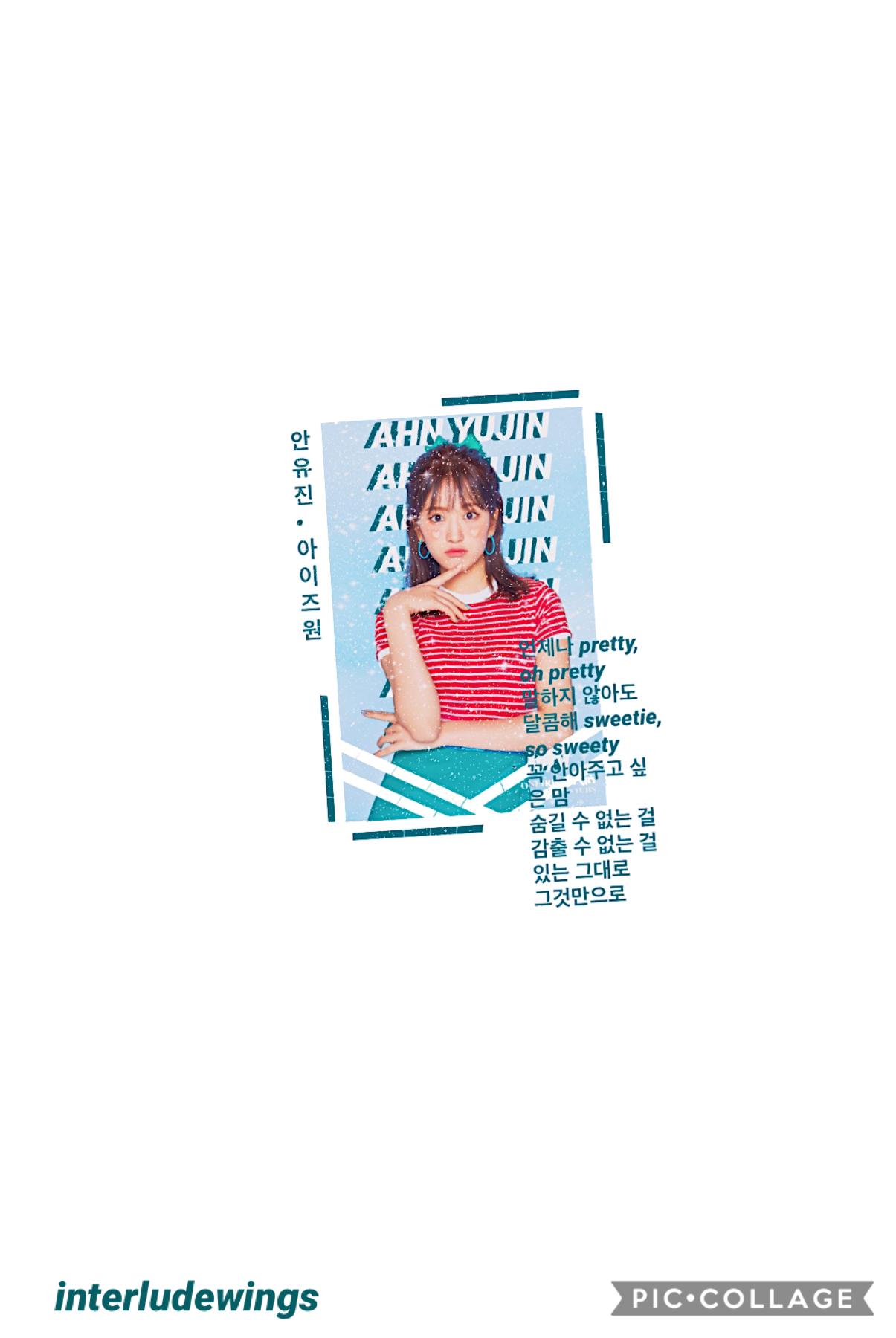 ❤️ open ❤️ yujin~izone  idk how i feel abt this edit but izone's mini album slaps! my favorite tracks are pretty and merry go round 🥰