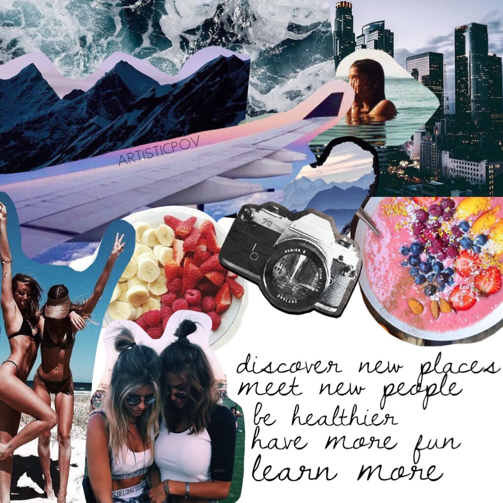 Contest entry for @piccollage 💕 new year's resolutions