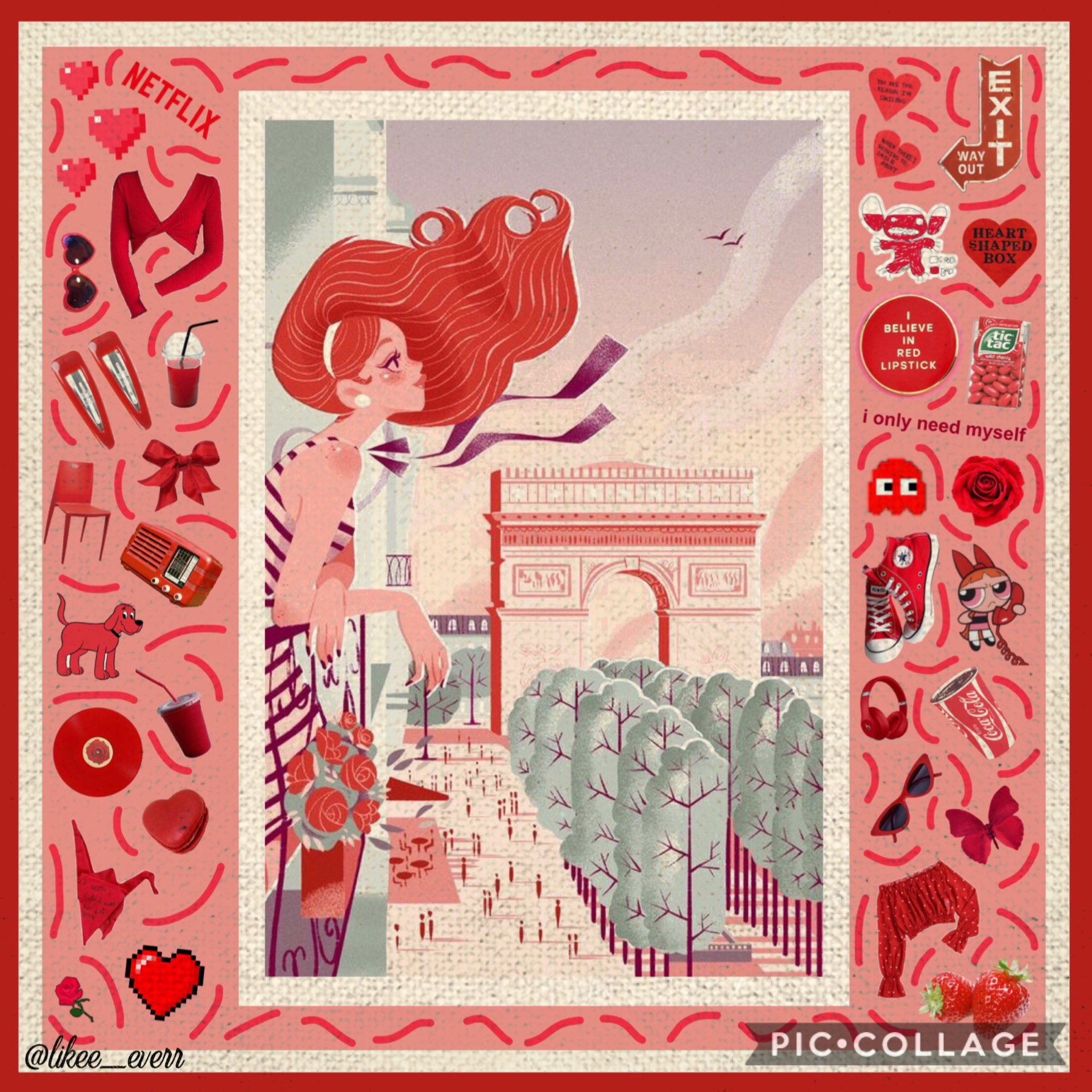 ❤️TAP❤️ This is late for Valentine's Day, but it's better late than never! I really enjoy the soft aesthetic of this one.  Q: What is your fav holiday? A: 1st: Halloween, 2nd: New Years, and 3rd Christmas
