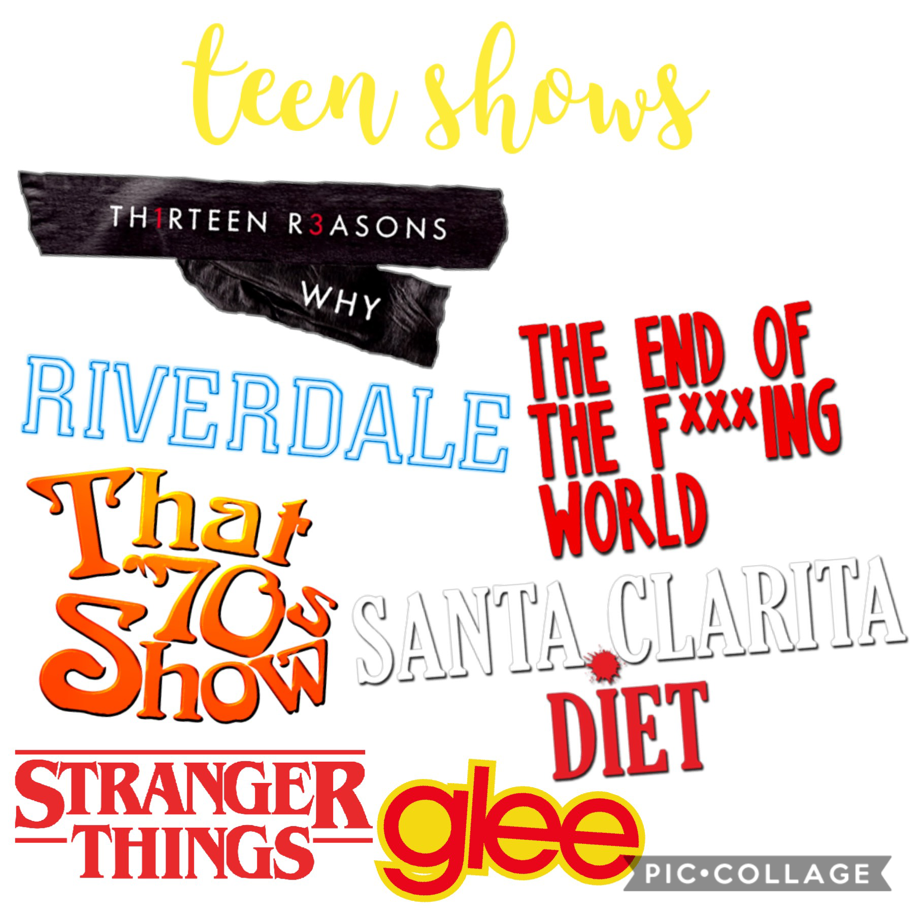shows I watch/ed as a teen. I don't watch riverdale anymore lol