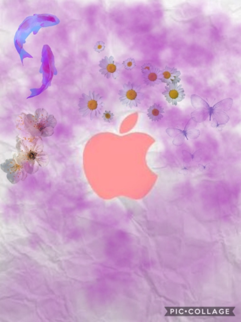 Tap🦄here Hey guys i made this simple apple logo for you hope you like it