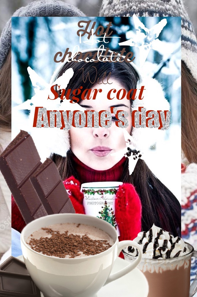 Tap here  I don't really like chocolate but hope you like this collage!!😁