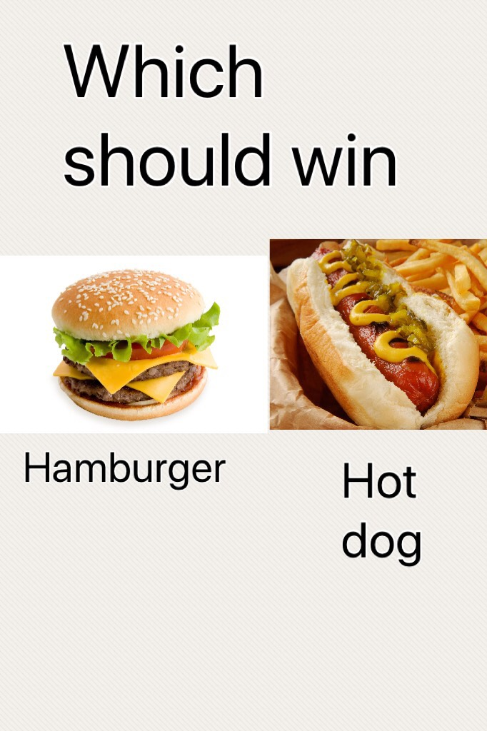 Which should win