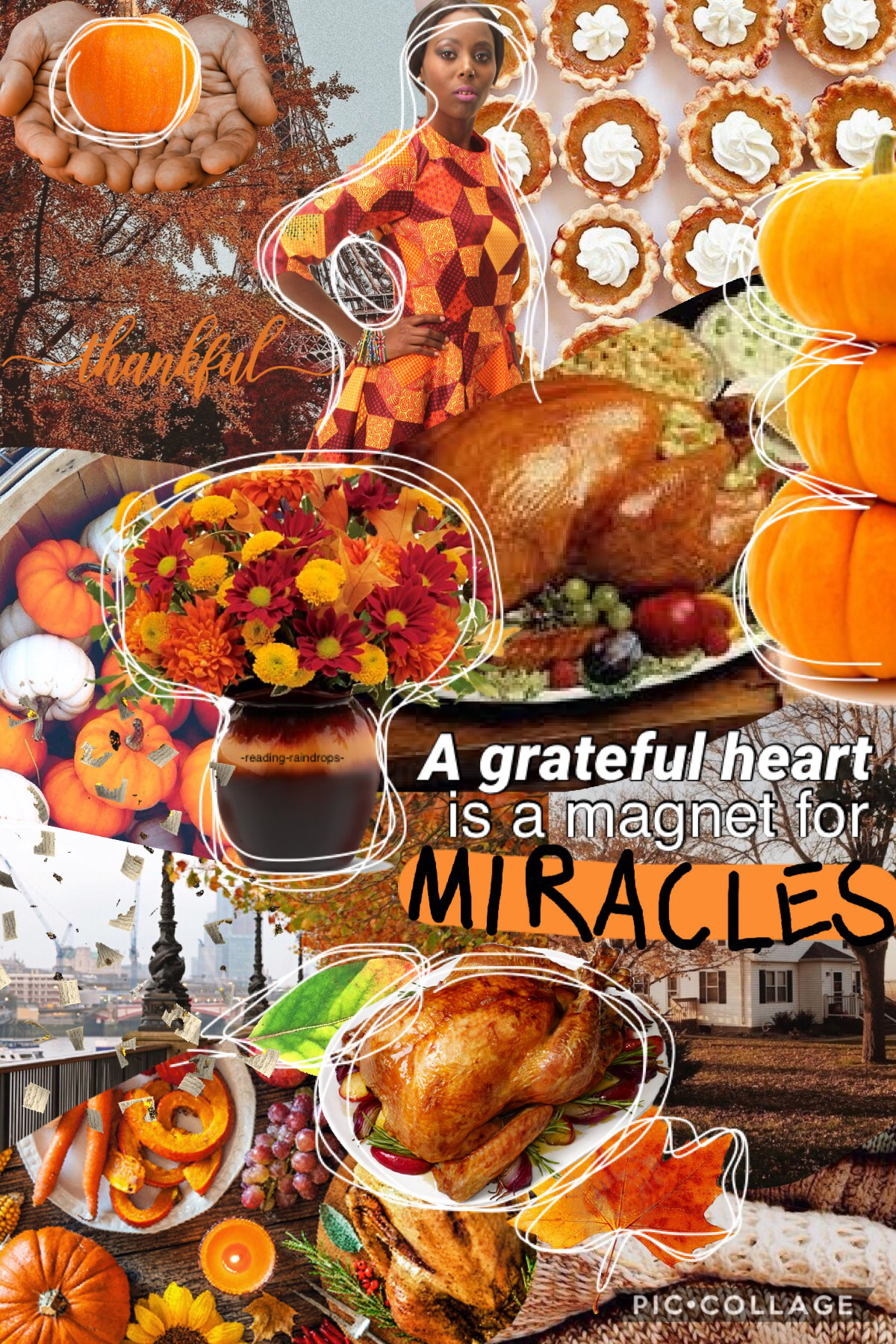 🧡Tap🧡 HAPPY CANADIAN THANKSGIVING!!!!!!!! 🍁 I'm grateful for all you amazing, supporting people! Yesterday we went to my aunt and uncle's for turkey supper. Yum! 😁