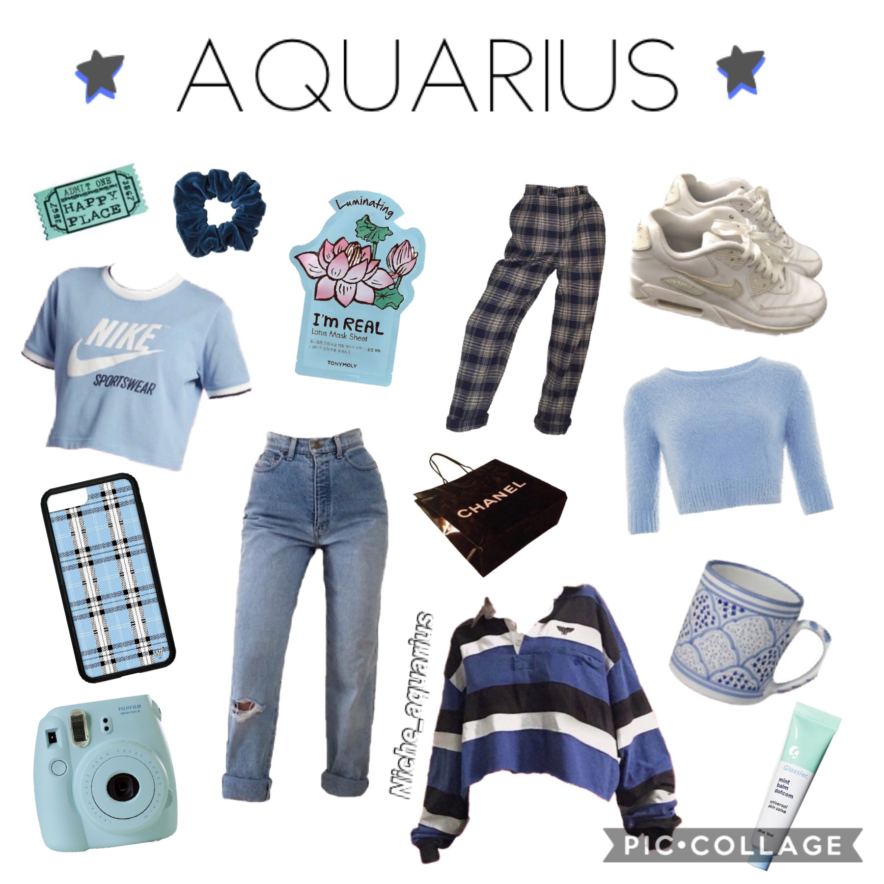 ♒️💙TAP💙♒️  I tried to do something a little different this time so I hope you like it💕 I did Aquarius first cos I'm an Aquarius and I feel like they are always forgotten😂 I also tried to do an animation on it but it didn't let me share it with it☹️