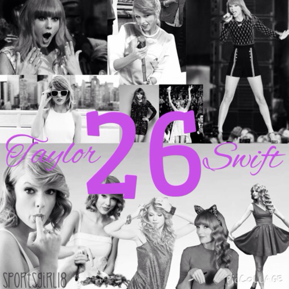 HAPPY 26TH BIRTHDAY TAYLOR SWIFT💖