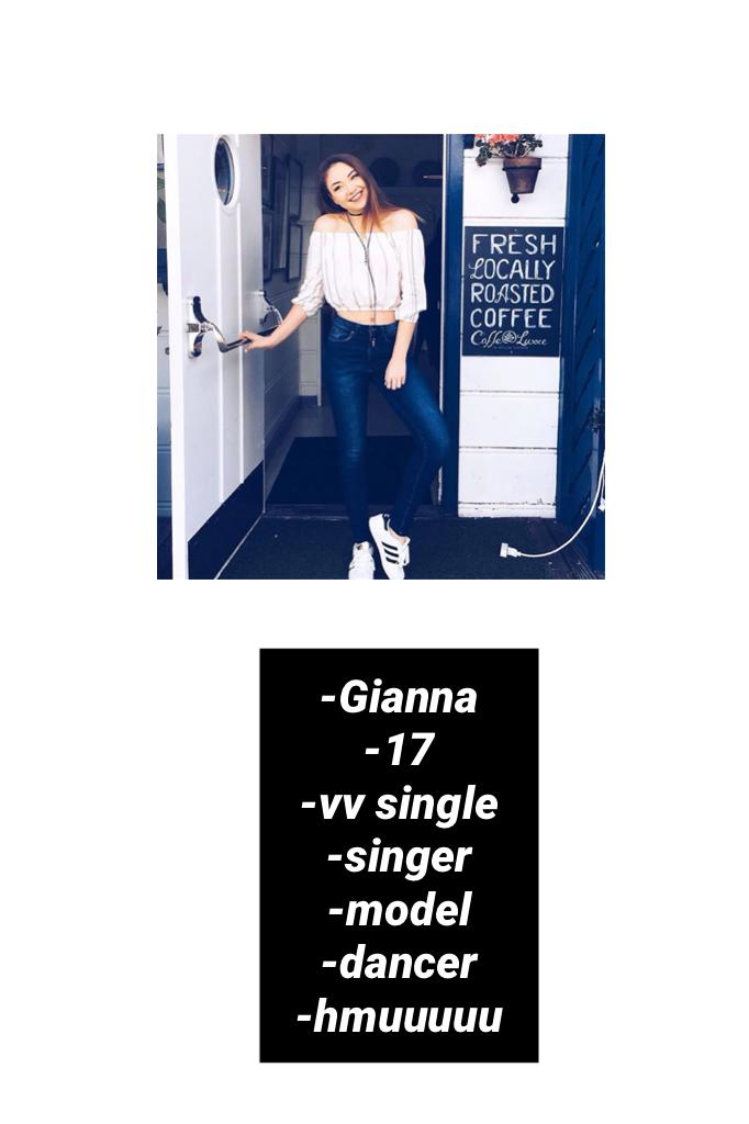 -Gianna -17 -vv single -singer -model -dancer -hmuuuuu