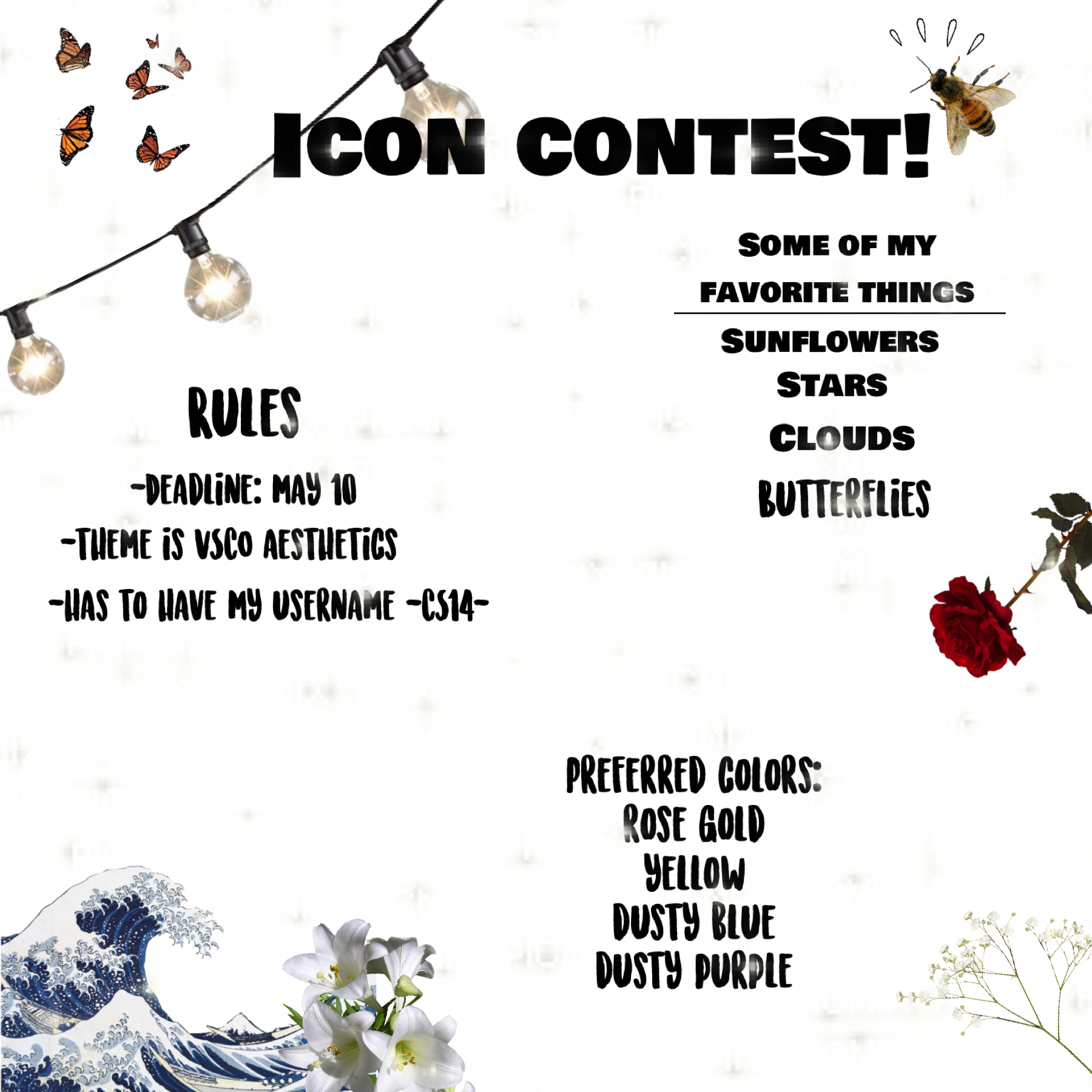Icon contest! Join!