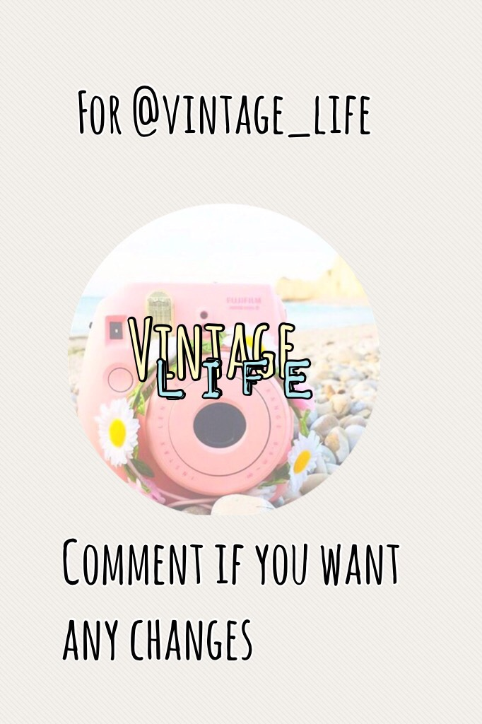 For @vintage_life