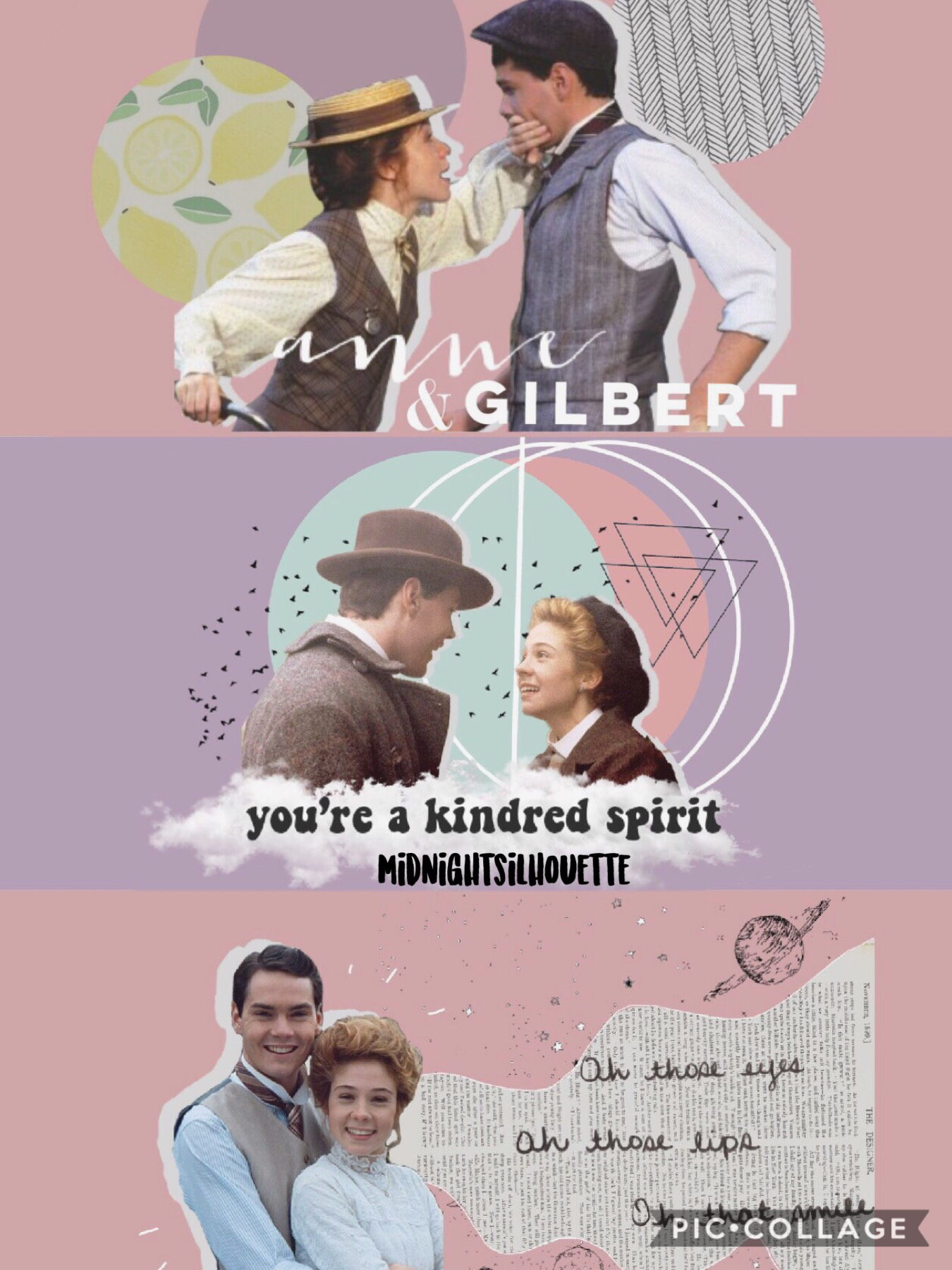 an anne and gilbert graphic edit - what do you think?