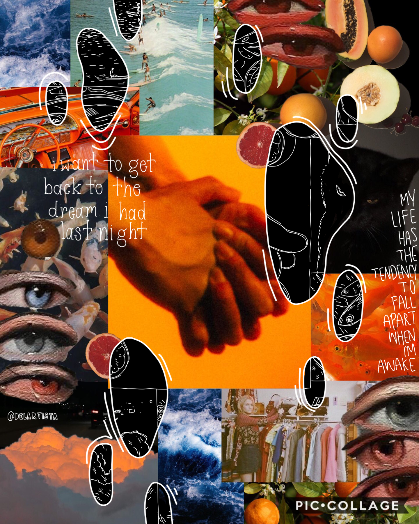 tap Woah, an actual collage that I don't completely hate! Finally finished 1 of the like 5 collages I'm working on Happy 2020!! I might make a post talking about what I want for myself this year but idk yet. Break is almost over and I'm kind of stressing