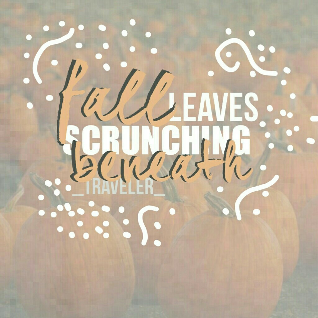 🍂click here🍂 HEY GUYS!! (finally he he) this collage is inspired by the amazing @Spotlight- !!💗GO FOLLOW HER!!😘happy Fall guys!! QUOTD: fav season??☁AOTD: FALL FALL FALL ALL THE WAYYY SO PRETTY😍