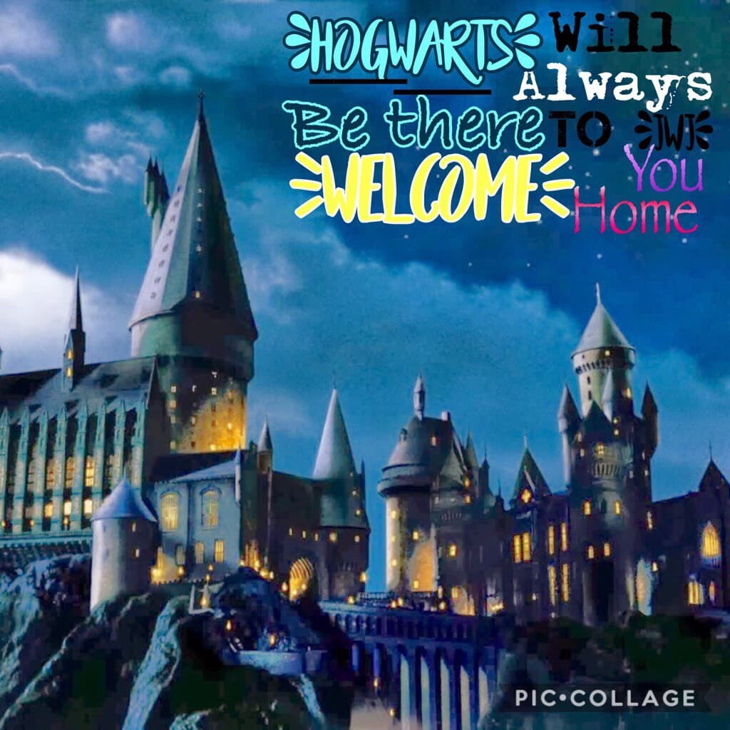 Harry Potter is my best friend. And Hogwarts is my school. I'm in Ravenclaw and sometimes find Neville annoying. Just Kidding. I wish this was true. Who else does???