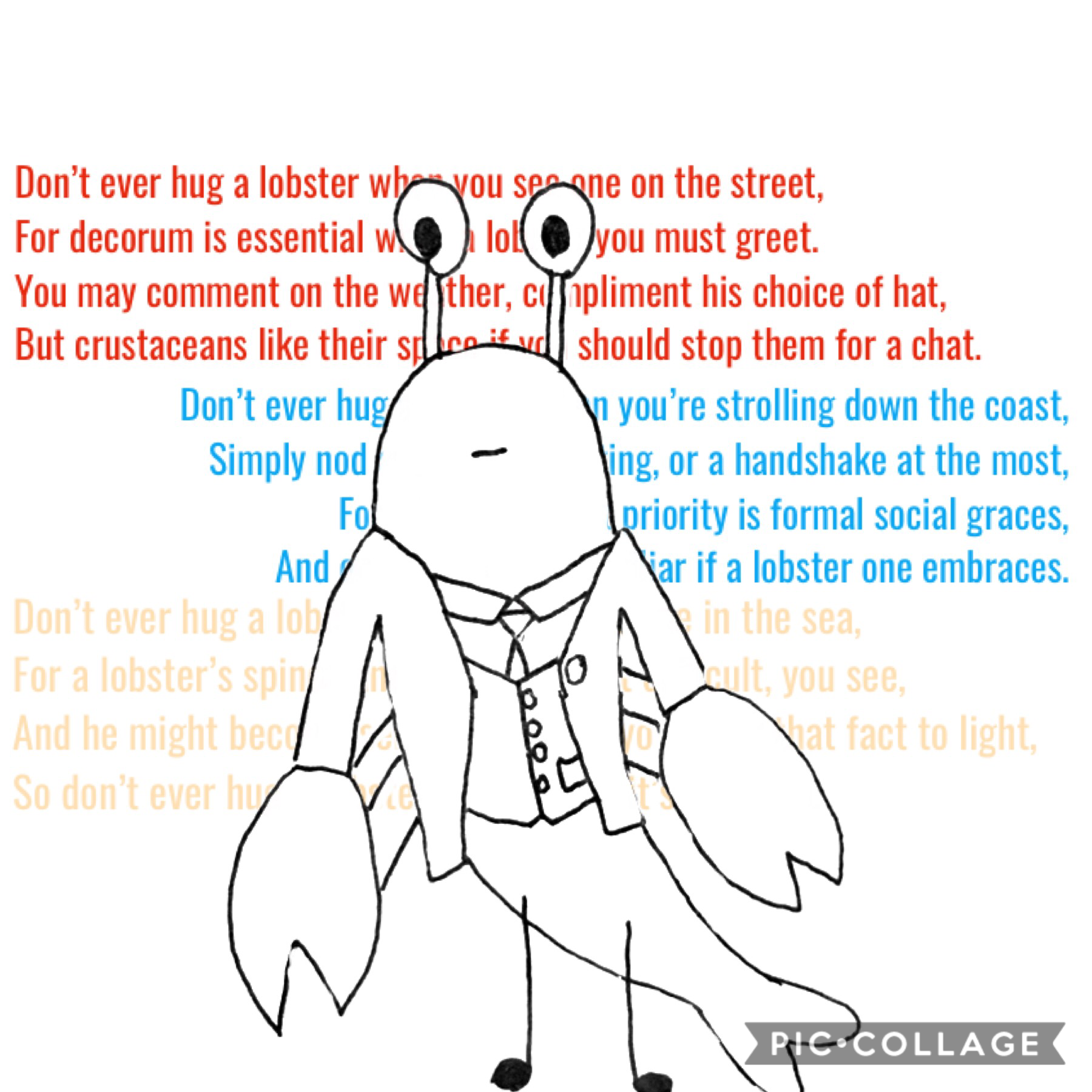 ✨👏✨ I dunno why I made this but I did The poem is from Tumblr It's not mine The art, however, is mine.  His name is Edward.