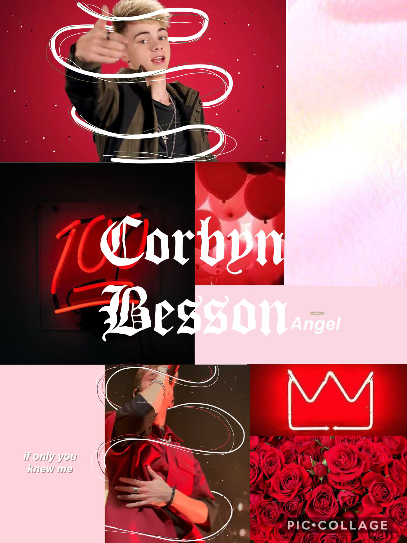 Corbyn Besson collage❤️❤️❤️ this is so bad omg😂
