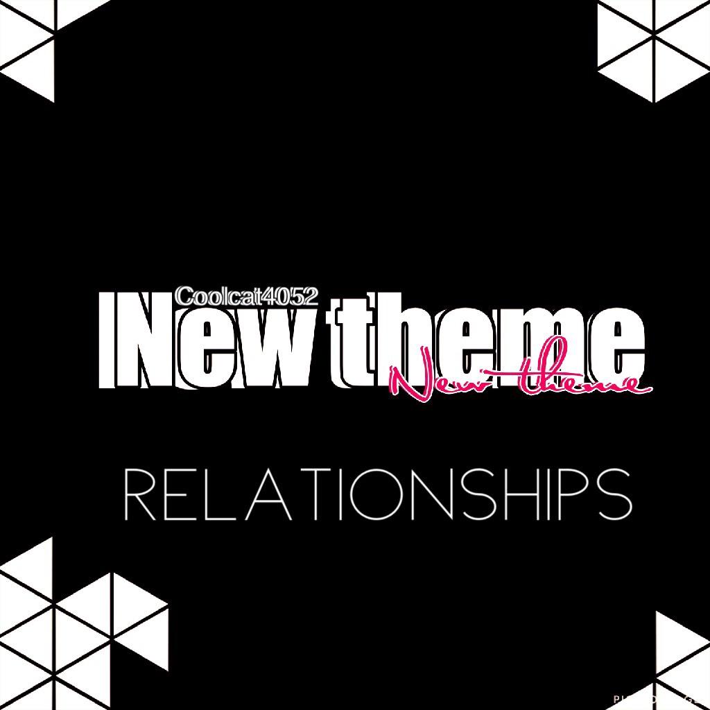 Relationships.... I have like zero inspiration 😂😂😂