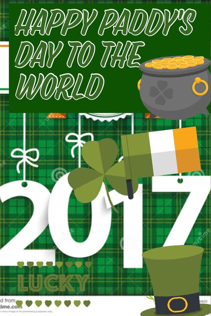 Happy Paddy's Day ☘️