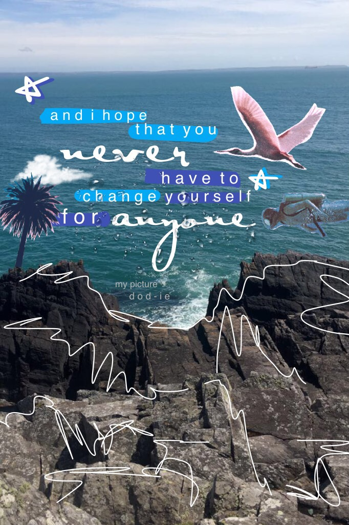 •tap• •saturday at last!😌• •🌊🌸🌊• •this is my picture!! i'll leave the original in the remixes, why don't you have a go? tag it with #dodiesea!😊• •qotc: where would you like to go?✈️•