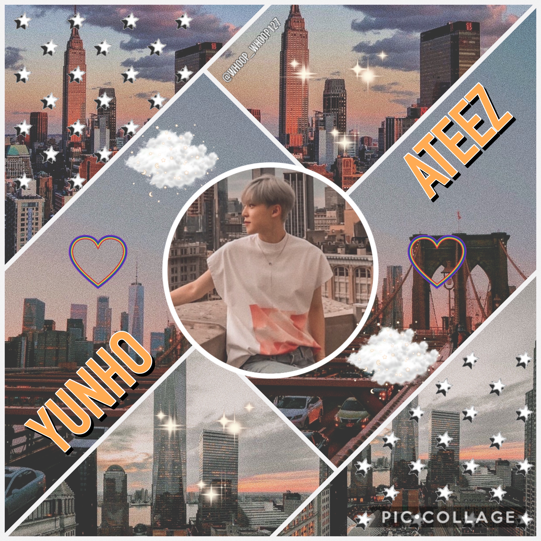 •🚒• 🌷Yunho~ ATEEZ🌷 Edit for @Starrysky-💞 Kinda missing ATEEZ rn lol Stray Kids is having a comeback soon and are dropping their first full album I CANT 😳😳😳