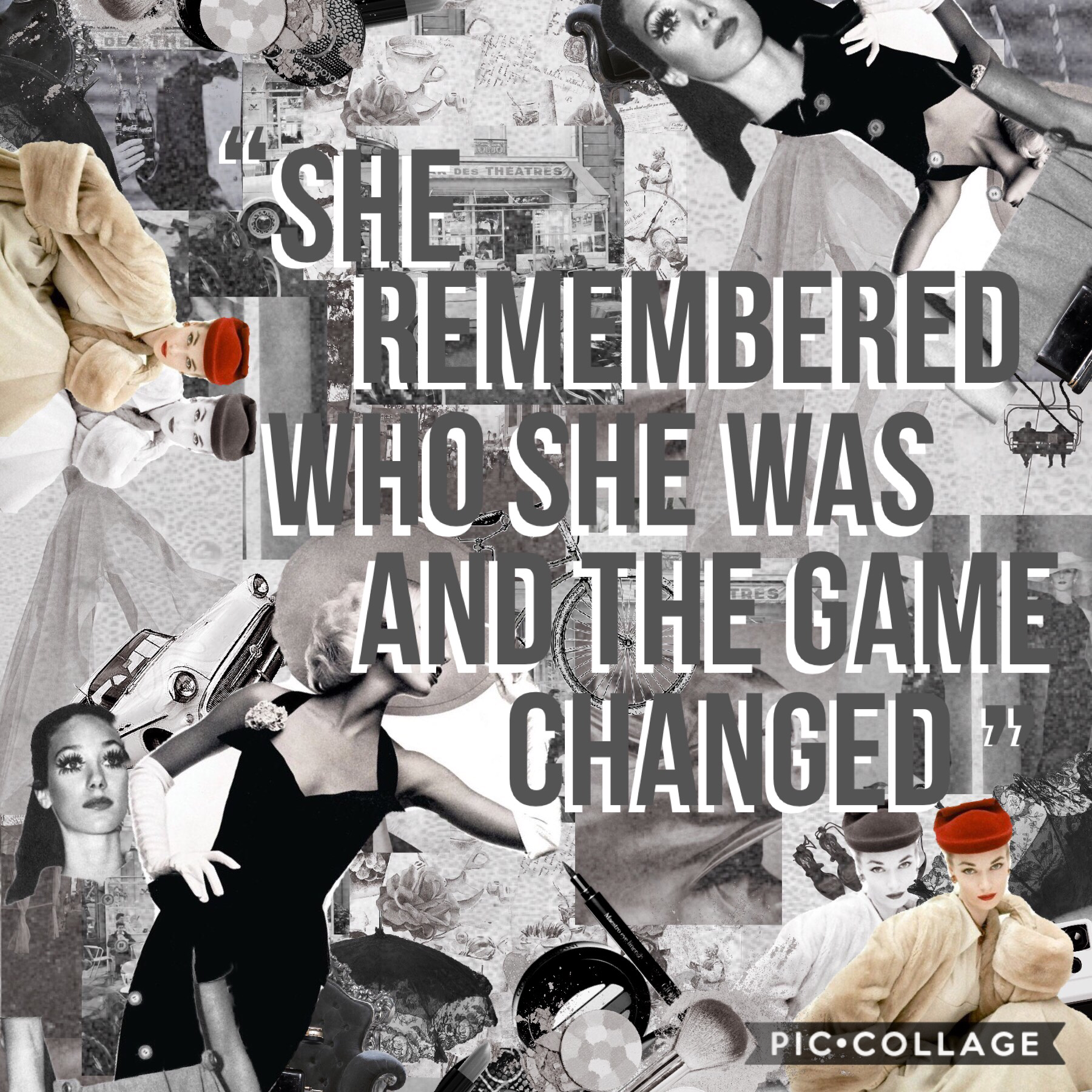 """She remembered who she was and the game changed"" -lalah Delilah 🙌🏼✨"