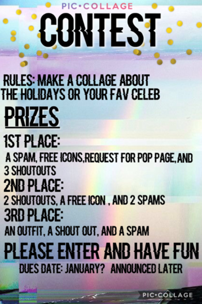 Tap here Please and enter and have fun. I also forgot to mention that 1&2 place also get outfits. Sorry😂😊