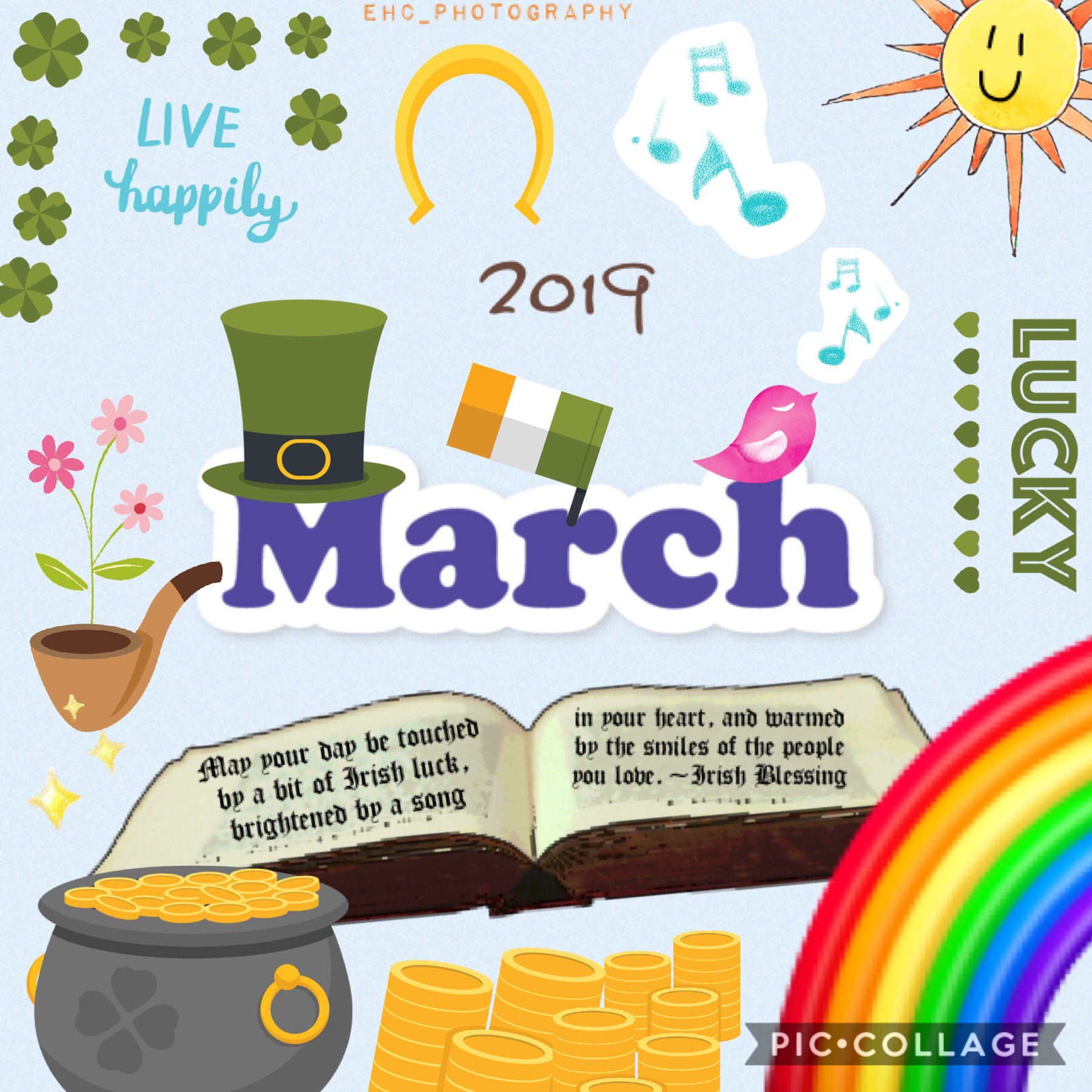 I know I'm like 2 weeks late, but happy March! 👩🏻🦰 🍀 🗓 🌈 🎩 📖 🌸 ✨ 🐦 🎶 🇮🇪 🌞 This is trash, but I tried. 😂 It was World Sleep Day! 😴 🛌 ⏰ QOTN: How much sleep do you get everyday? 💤 AOTN: My schedule is all over the place, but about 7hrs I think. 😆