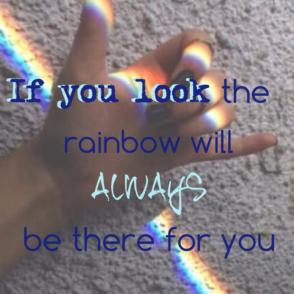 🌈Click the rainbow🌈 The rainbow will be there for you because there is so much more meaning then colors. It's that God will never flood the earth again.🙏🏼