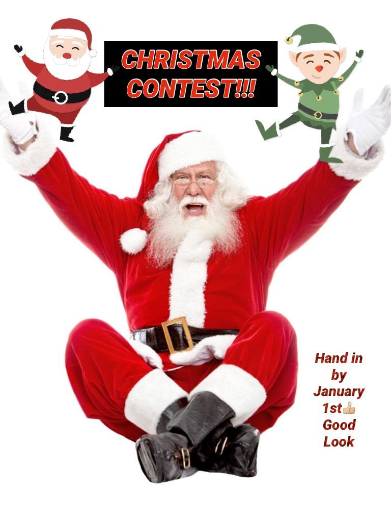 CHRISTMAS CONTEST!!!