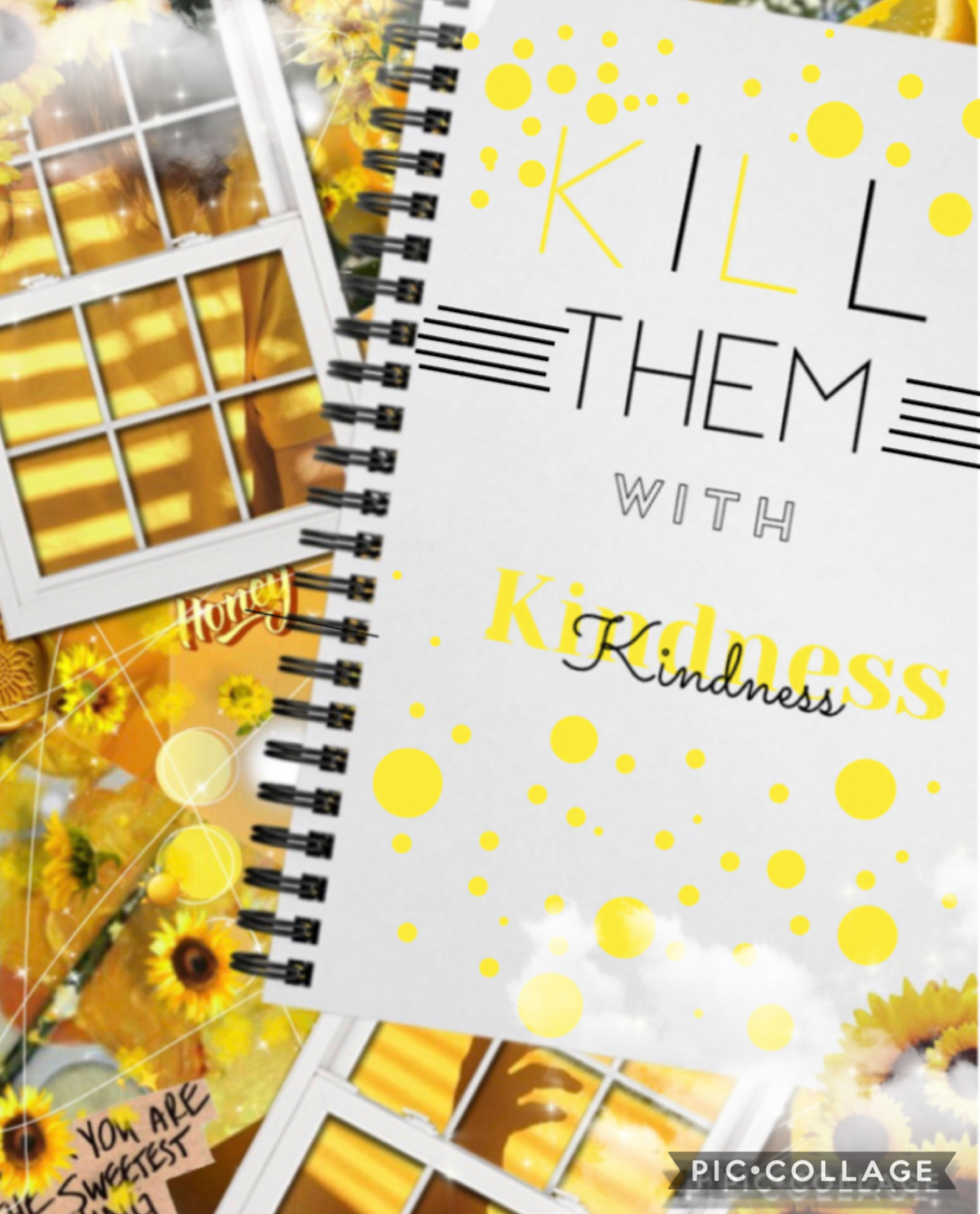 Tap 🌻 hey guys - COLLaB week to start of the new theme - K I N D N E S S - _Sundara_ T E X T -BloomingBadgers- BA CK GR OU N D - Reizend- E X T RA S  I hope y'all enjoy this theme 👏🏻😁 - Capley  Q O T D : One kind thing you've done today?
