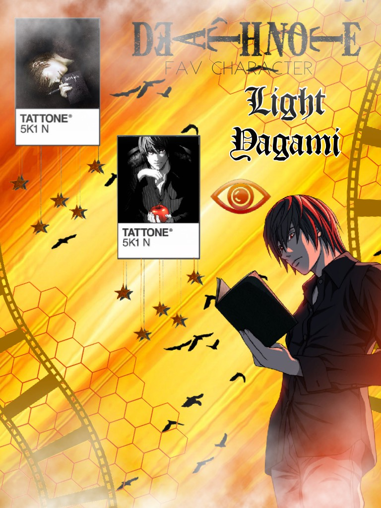 Fav character series: Death Note - Light Yagami