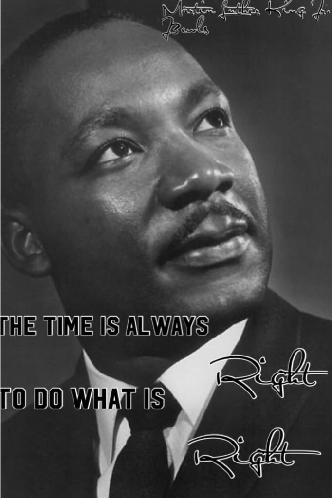 One of MLK's best quote!