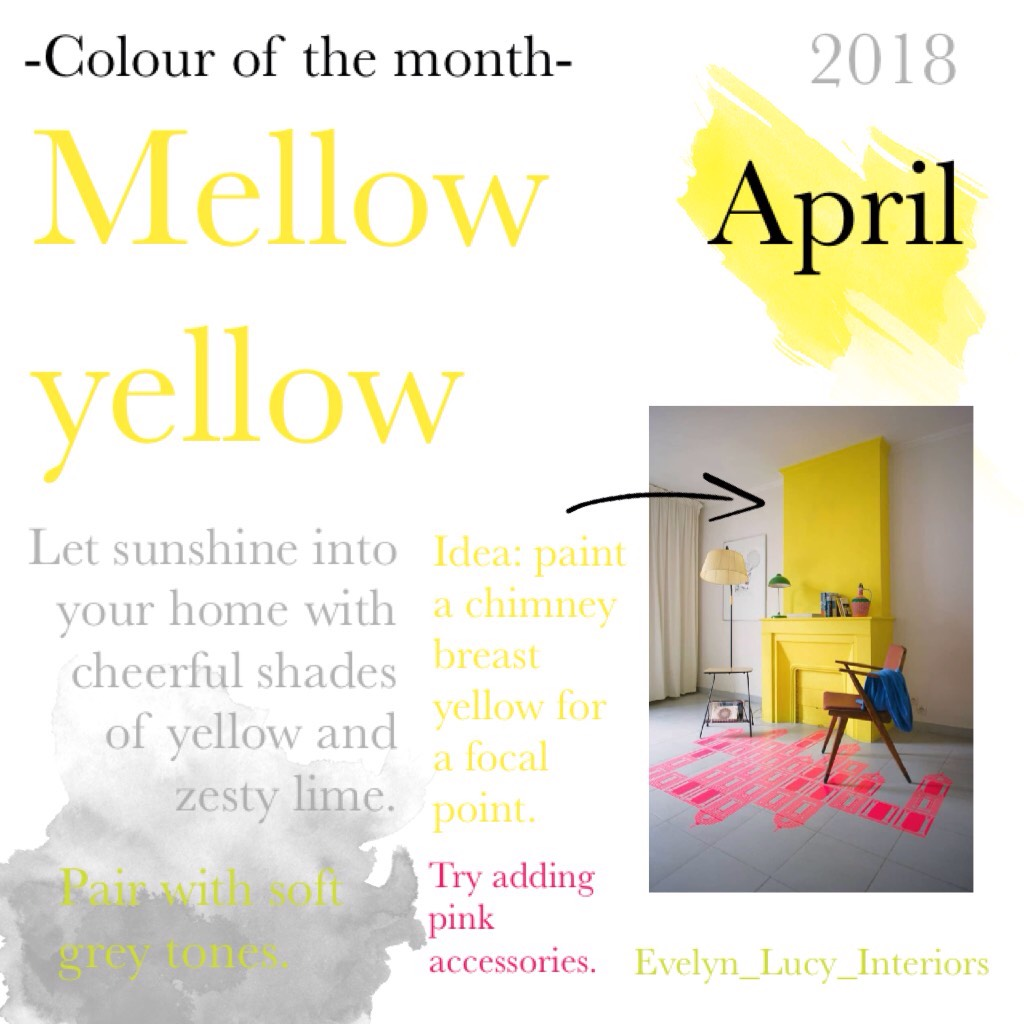 Colour of the month: April