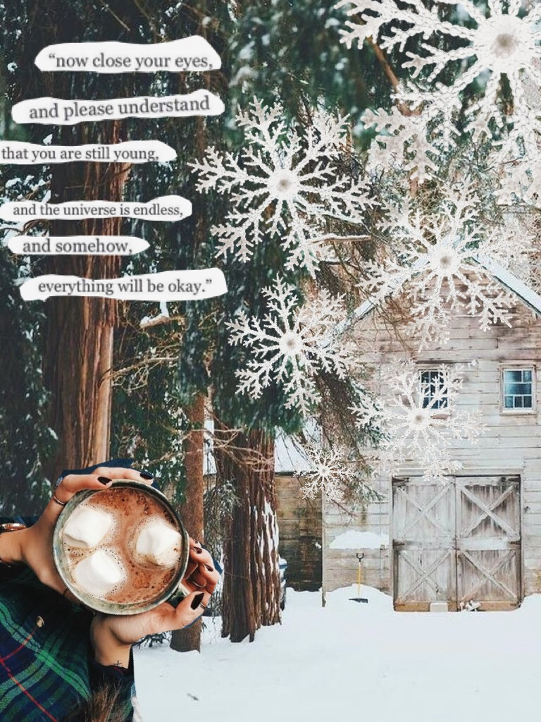 My first Winter themes collage!