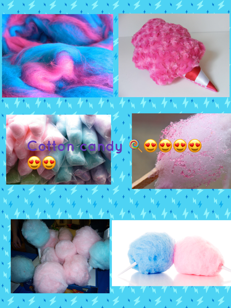 Cotton candy 🍭😍😍😍😍😍😍