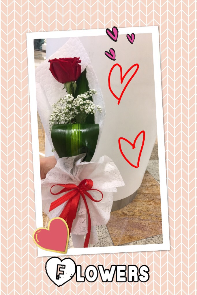 I had a lovely surprise today! Thank u! From my family :)