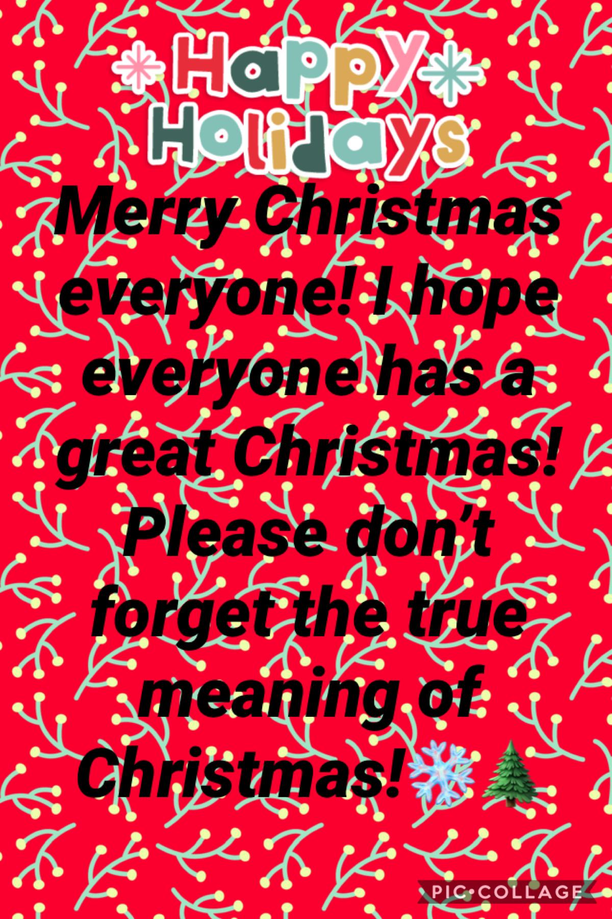 Merry Christmas everyone🎄🎁