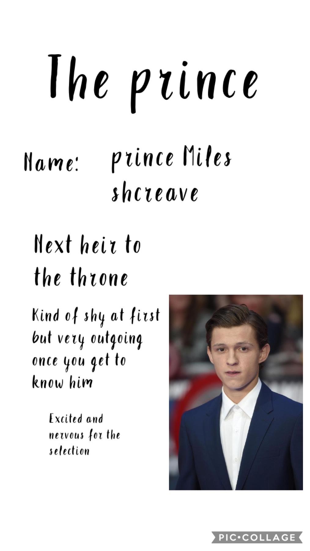 Introducing Prince Miles