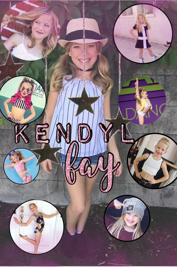 Tappy Kendyl Fay edit I love this kiddo so much she is the one who got me into this comp dance world She is such an inspiration and I will always be her biggest fan ⭐️💕💕💕⭐️