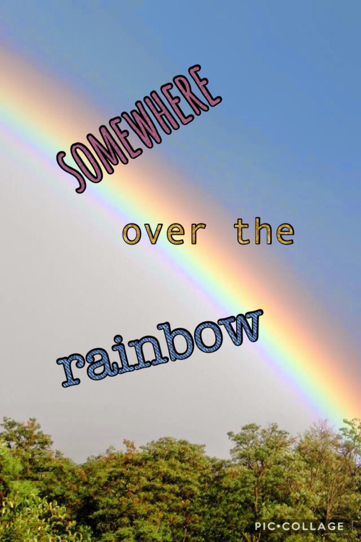 has anyone seen a rainbow this year