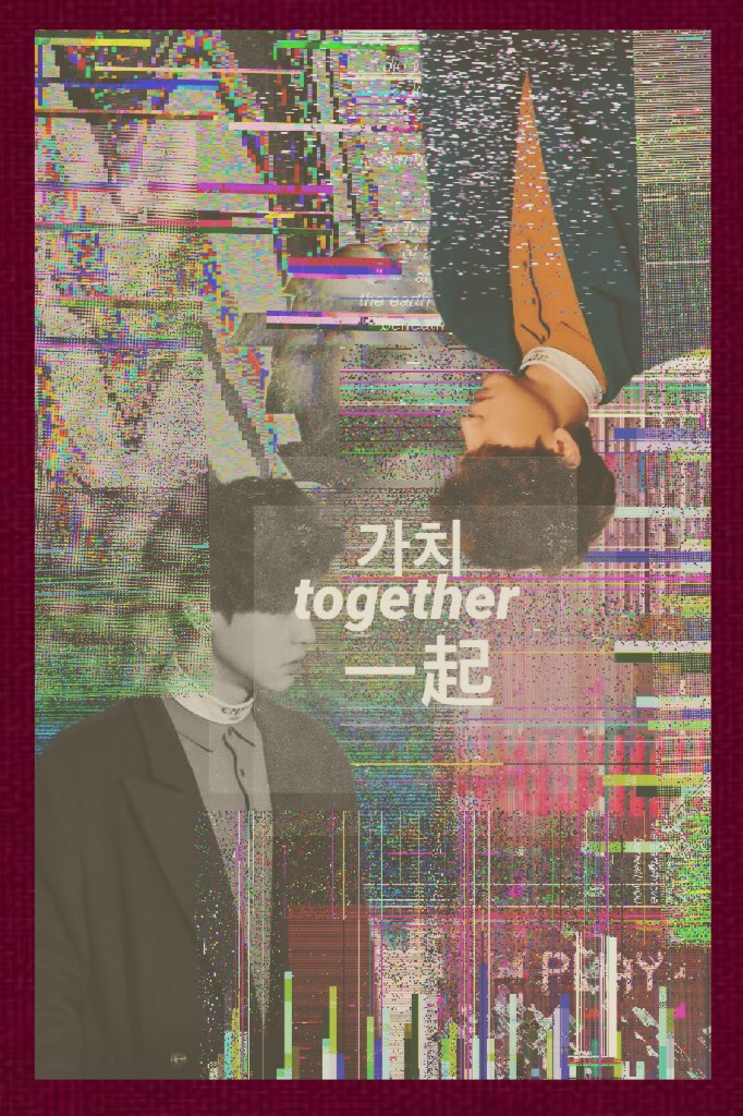 …•CHANYEOL GLITCH COLLAGE•… Inspired by JibootyHwaiting ❤️ Basically I'm on and off like I said. Not gonna break my word. Life's been good got some family business so won't be on as much as I thought I would be on.
