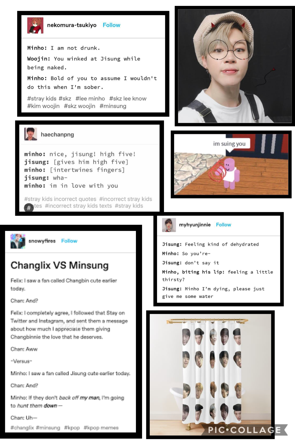 Pt 3 of what's in my camera roll, Minho be wildin