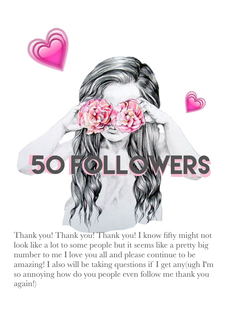 💗 Thank you! I will be taking questions if there is any btw!😊❤️