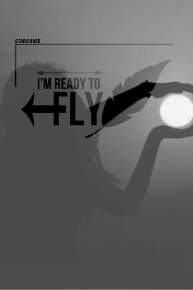 I'm ready to fly👼
