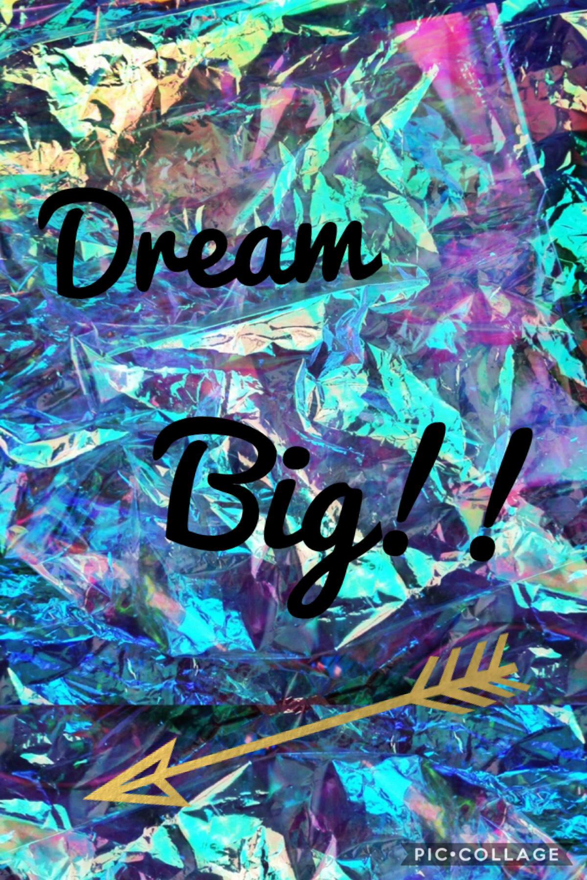 Dream big!!