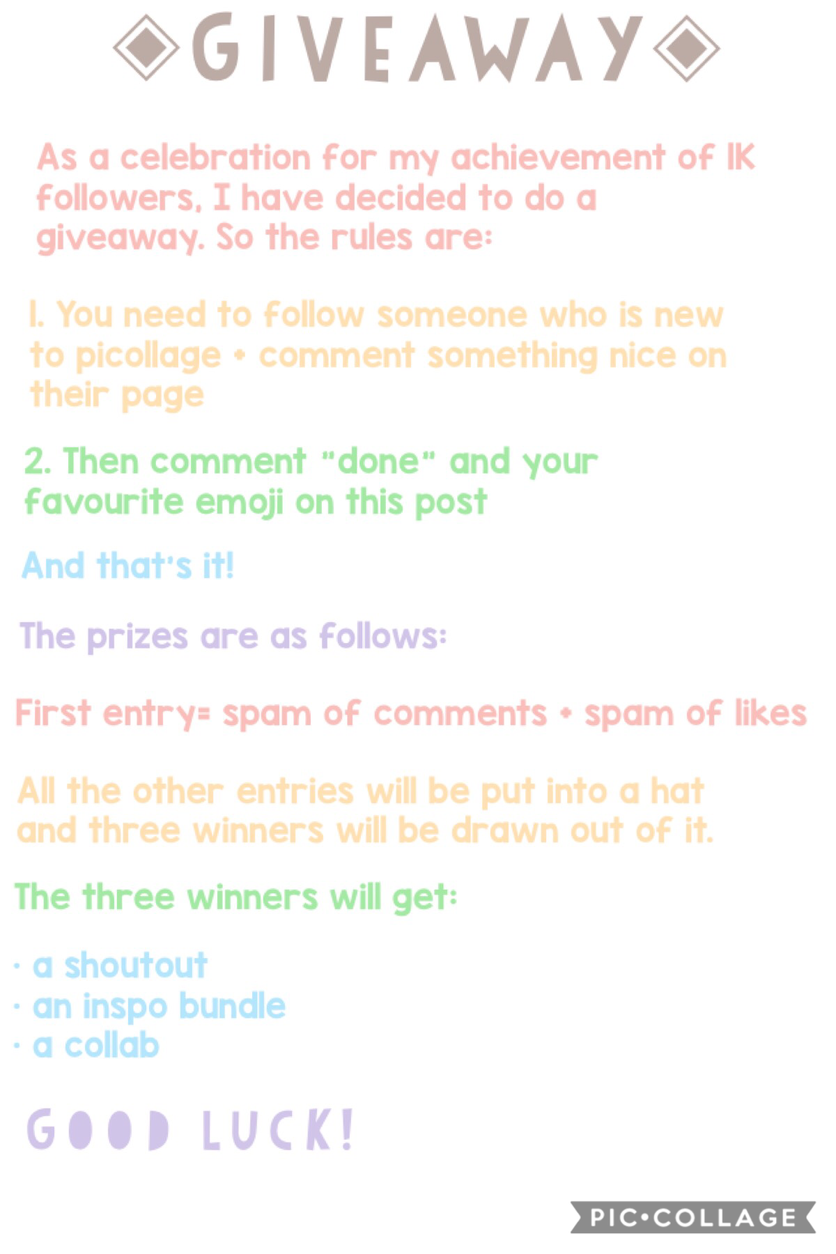 giveaway time 🌸 the due date is next week saturday (23rd of feb) 🦋